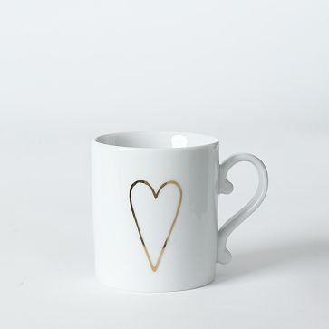 DIY do it yourself mug with heart