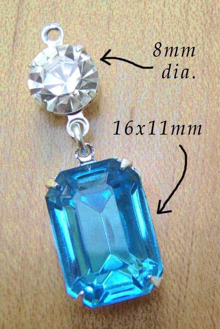 Glass Jewels combination for do it yourself jewelry design