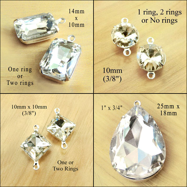 bridal gems on sale in my online jewelry supplies shop