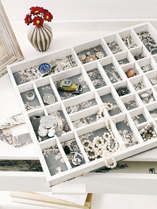 do it yourself jewelry storage and organization