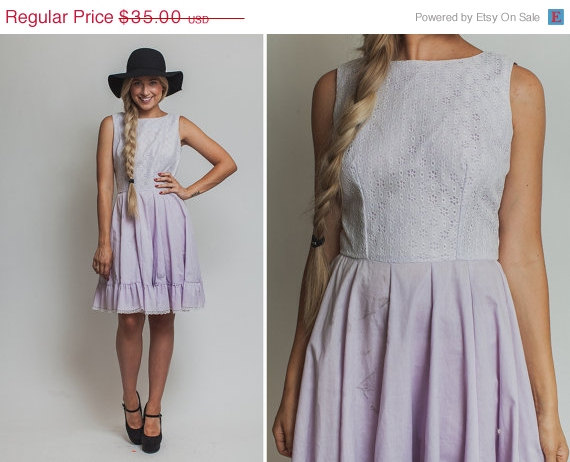 light purple vintage square dance dress