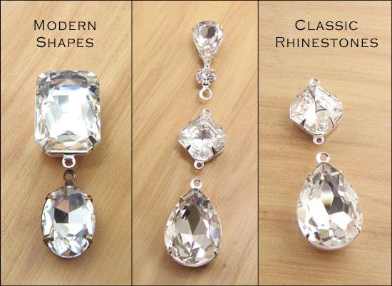classic rhinestone earring designs