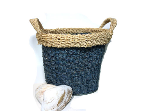 vintage beach house basket