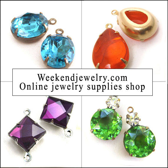welcome to weekendjewelry.com online jewelry supplies shop